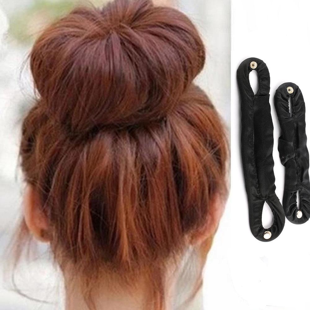 Useful DIY Women Lady Magic Hair Braider Twist Styling Holder Clip Hair Tie Headwear Tools