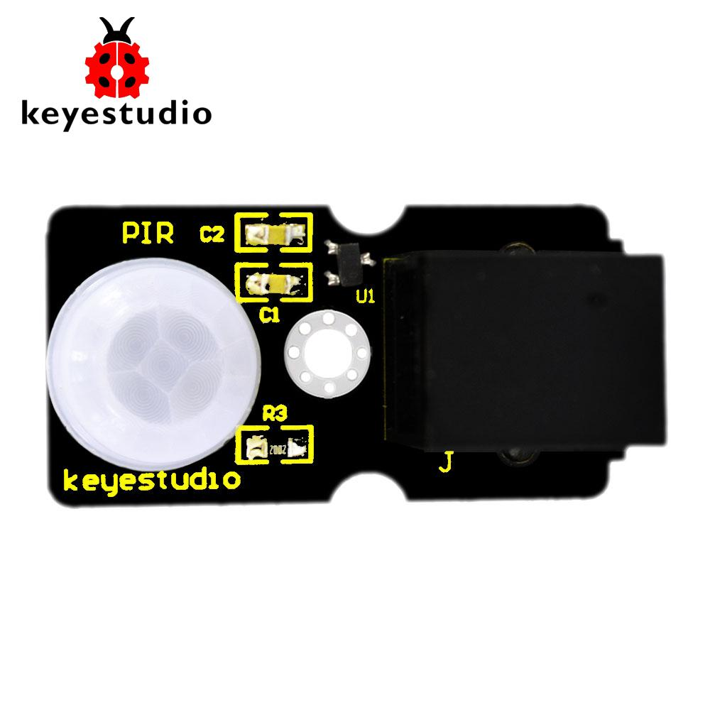 Keyestudio RJ11 EASY plug PIR Motion Sensor Module for Arduino
