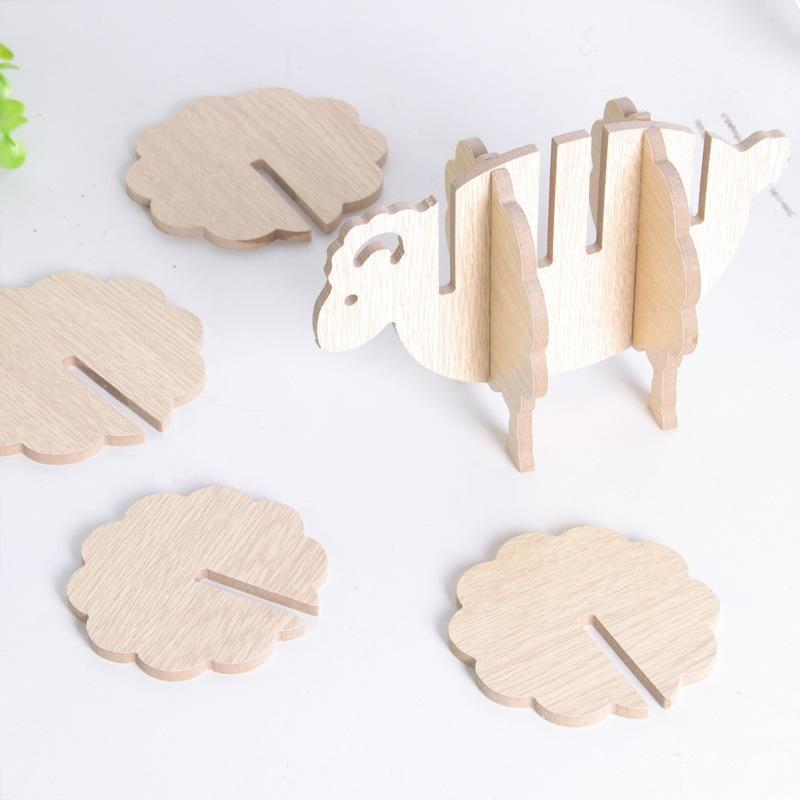 2019 Creative Wooden Coasters Diy Handmade Home Decor Tableware Pad