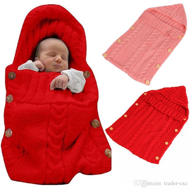 Großhandel Häkeln Baby Mädchen Erhalten Decken Neugeborenen