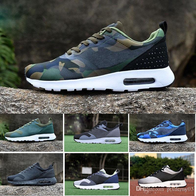 premium selection ceb7f 00c6b Acheter Nike Air Max Tavas 87 Designer Shoes 87 As Tavas Hommes Sneakers  Casual Chaussures De Marche Homme Chaussures De Sport Nouvelles Couleurs En  Gros ...