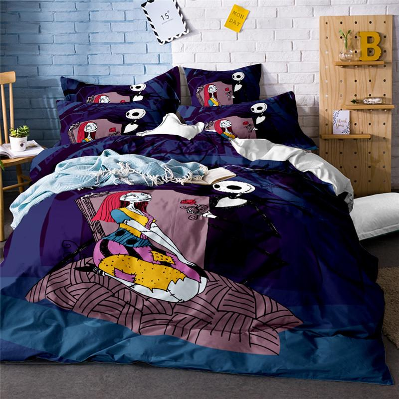 Vintage Bedding Set Couple Skull Rose Duvet Cover Plant Bed Linens Flat  Sheets Pillowcase 3d Bedclothes Bed Set Cushion Cover Cotton Duvet Cover  Queen Duvet ...