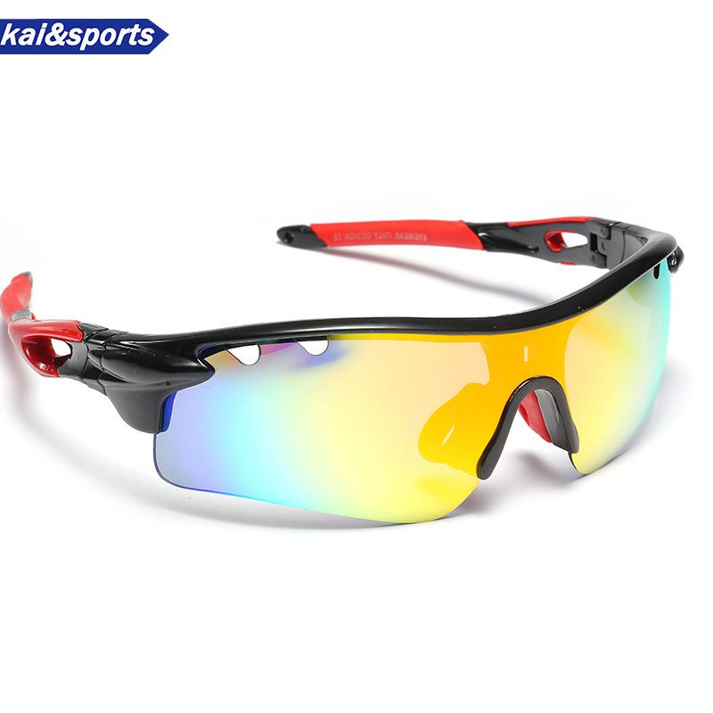 d1b3e4040e3e2 2019 2018 Profession Skiing Glasses Outdoor Sunglasses Sports Glasses UV  Cool Design HD Lenses For Riding