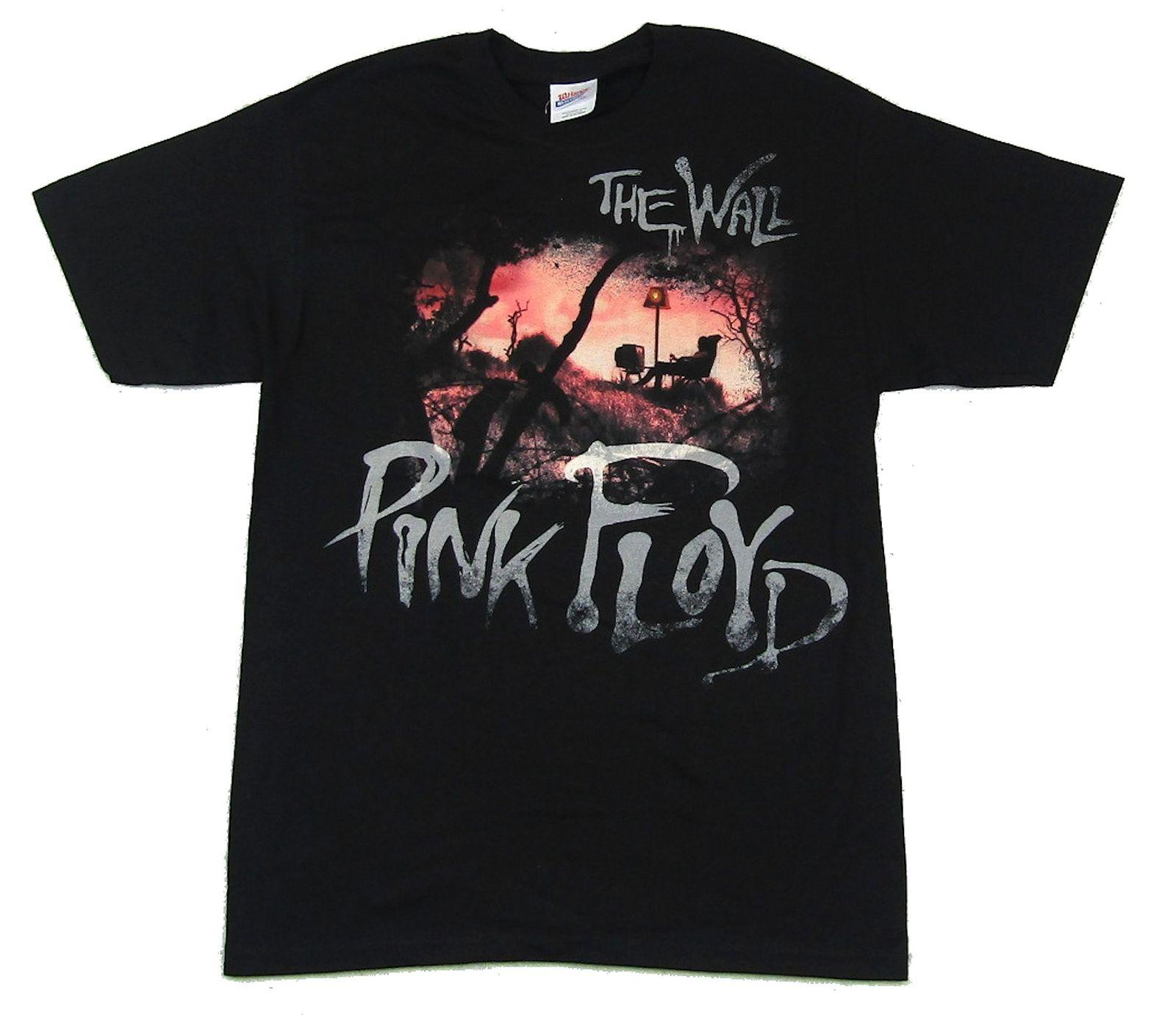 45361ec0a52 Pink Floyd Chair The Wall Black T Shirt New Official Band Merch Movie Tees  T Shirt Shirts Print From Shitan7