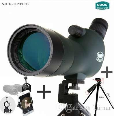40x60 Prism Spotting Scope Waterproof Telescope W/ Tripod Phone Adapter Bag Sale Price Binoculars & Telescopes