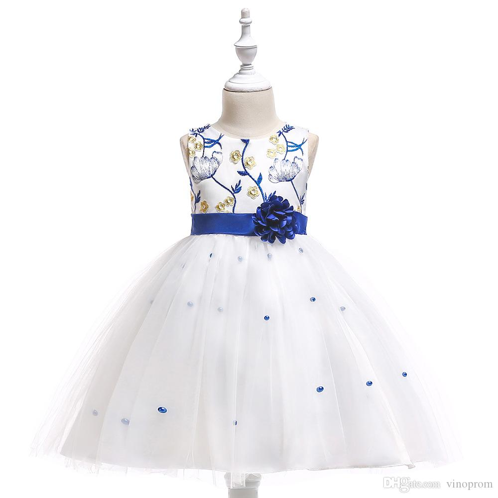 Cheap Flower Girls Dresses Tulle Lace Top Spaghetti Formal Kids Wear For  Party 2018 Toddler Gowns Flower Girl Dresses Sale Flower Girl Dresses Size  16 From ... ab291e1b4be5