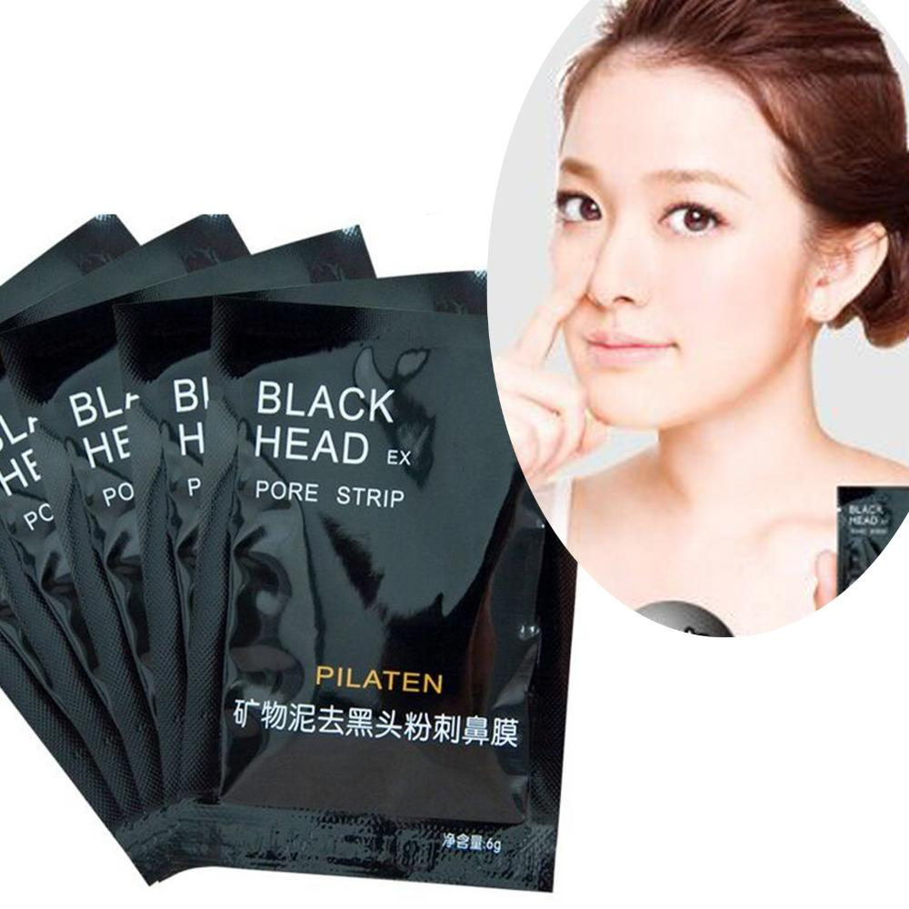 PILATEN Face Care Nose Facial Blackhead Remover Mask Minerals Pore Cleanser Black Head EX Pore Strip Nose Mask Homemade Facial Mask For Blackheads Homemade ...