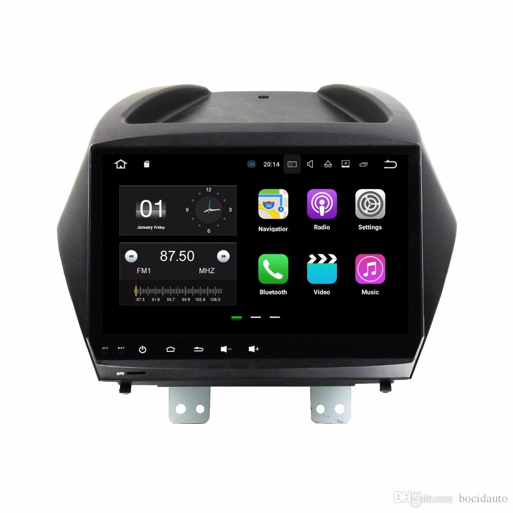 Quad Core 2 Din 9 Android 7.1 Car DVD Player For Hyundai