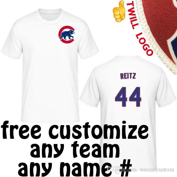 best cheap c70c2 13352 Chicago Cubs Shirts tshirts Ken Reitz|Dave Giusti|Mike Garman|Burt Hooton  tees Sewn On Twill Cub's Logo t-shirt
