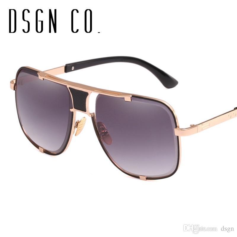 94f7824584b DSGN CO. Luxury Brand Designer Square Sunglasses For Men And Women ...