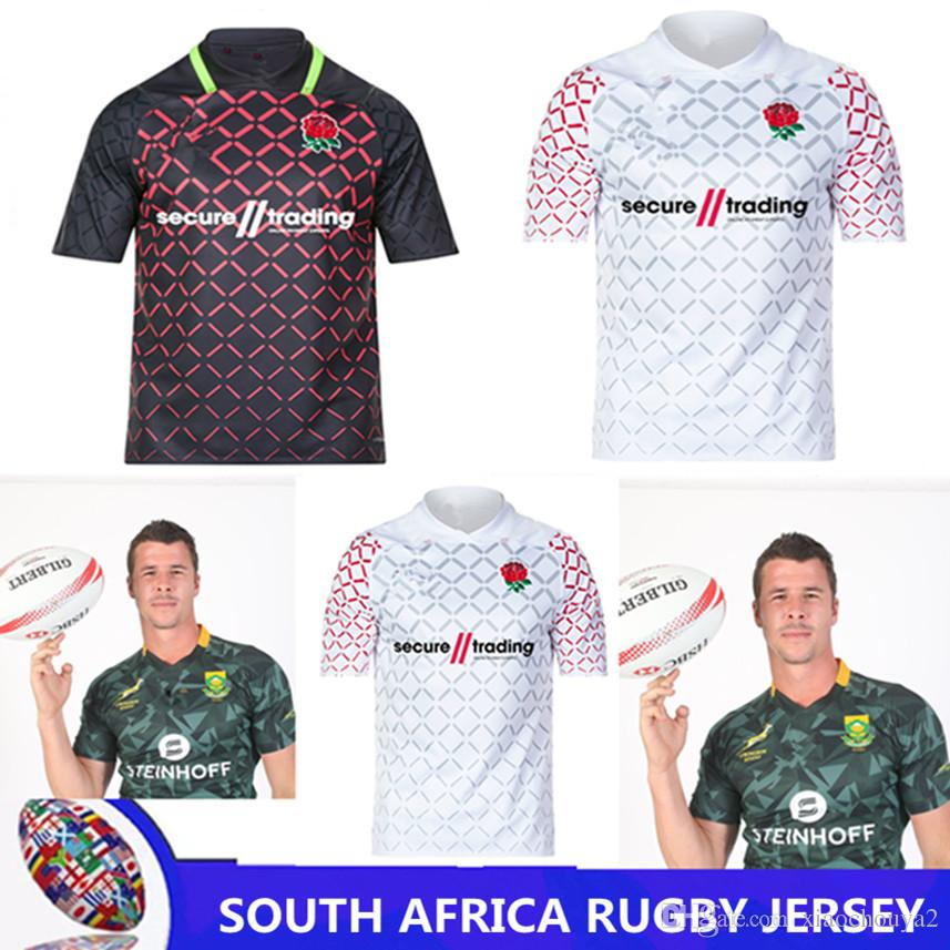 705cec13b25 Rugby Shirt Top Quality 2018 2019 South Africa Rugby Jerseys SOUTH ...