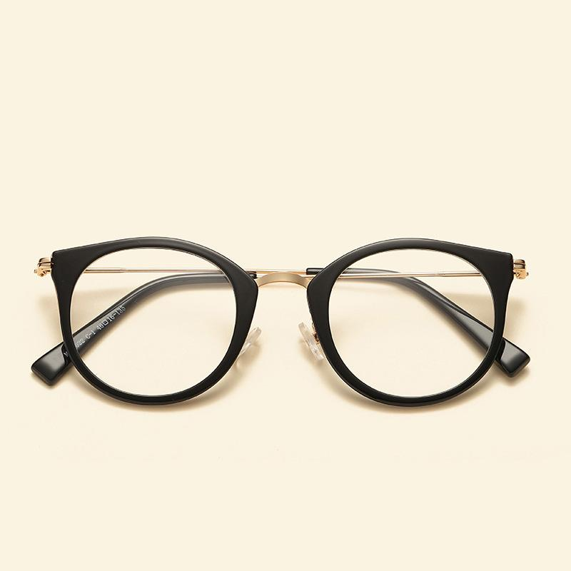 2019 2018 Cute Vintage Glasses Women Men Glasses Frame Round Eyeglasses  Frame Optical Glass Oculos Femininos Gafas Eyewear TR90 From Cupwater, ... a874e92115