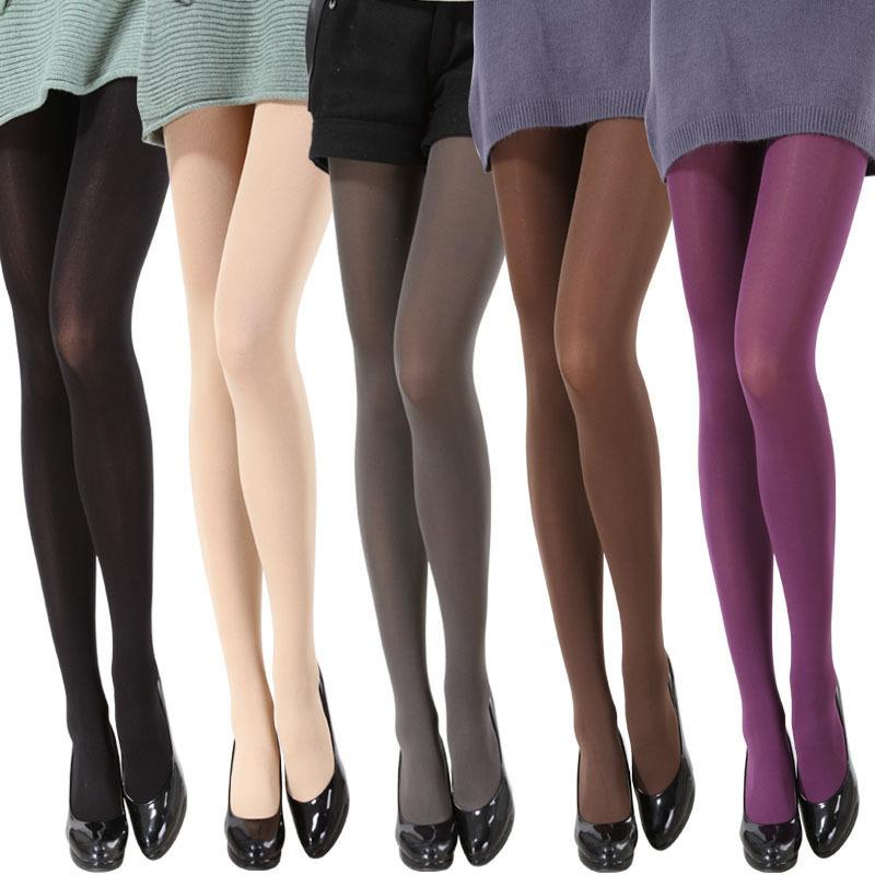 b2c08fdf4a740 2019 Women Stockings Pantyhose 120D Velvet Winter Pantyhose Warm Tights  Slim Stockings For Women Multicolor Fashion From Alberty, $27.81 |  DHgate.Com