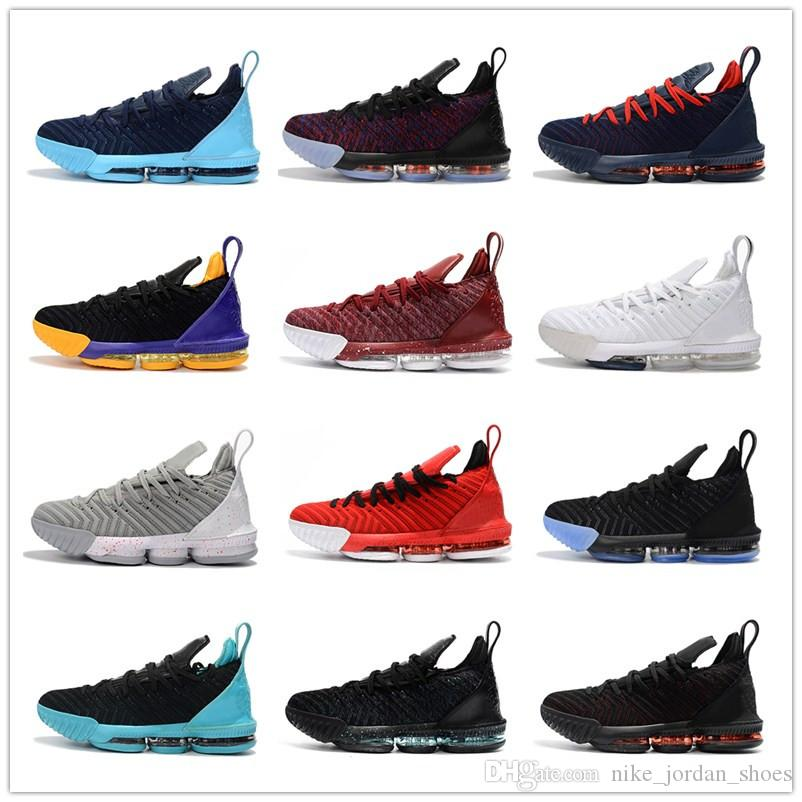 e10ded22cef 2019 2019 New Arrival L16 Sample Black White Red Mens Basketball Shoes For  Good Quality Men Athletic J16s Sports Sneakers Size 7 12 From  Nike_jordan_shoes, ...