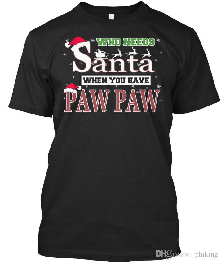 Großhandel Pawpaw Santa Weihnachtsgeschenk Wer Braucht, Wenn Sie ...