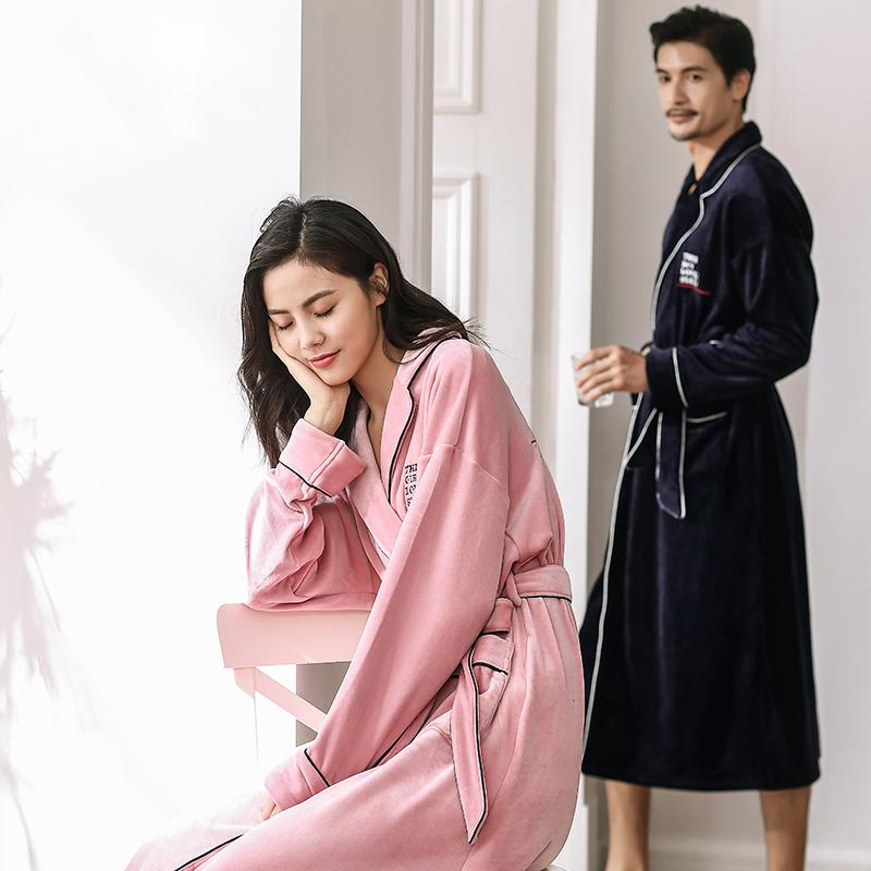 ef2fce5704 Wholesale-CherLemon Winter Couples Albatross Pajamas Long-sleeved ...