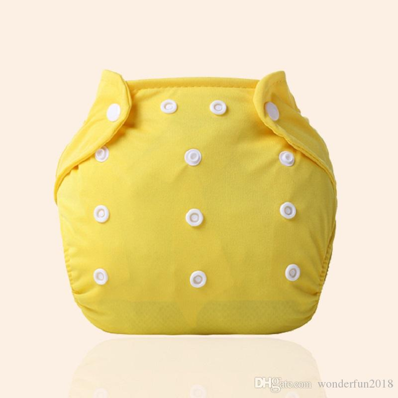 Adjustable Reusable Baby Kids Boys Girls Washable Cloth Diaper Nappies