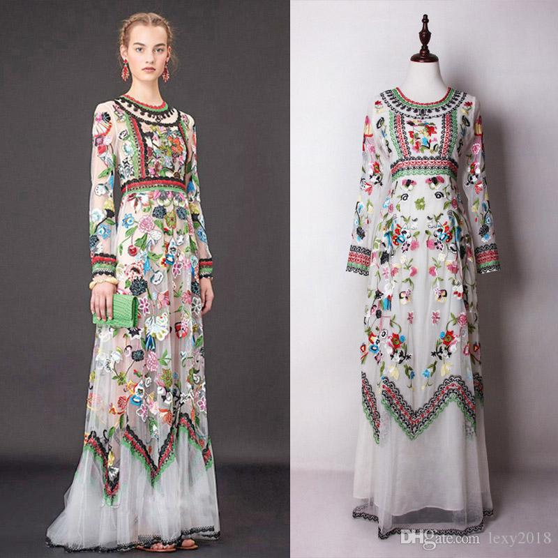 9e079f3ac31 Cheap Womens Holiday Maxi Dresses Best Beige Bohemian Floral Maxi Dress