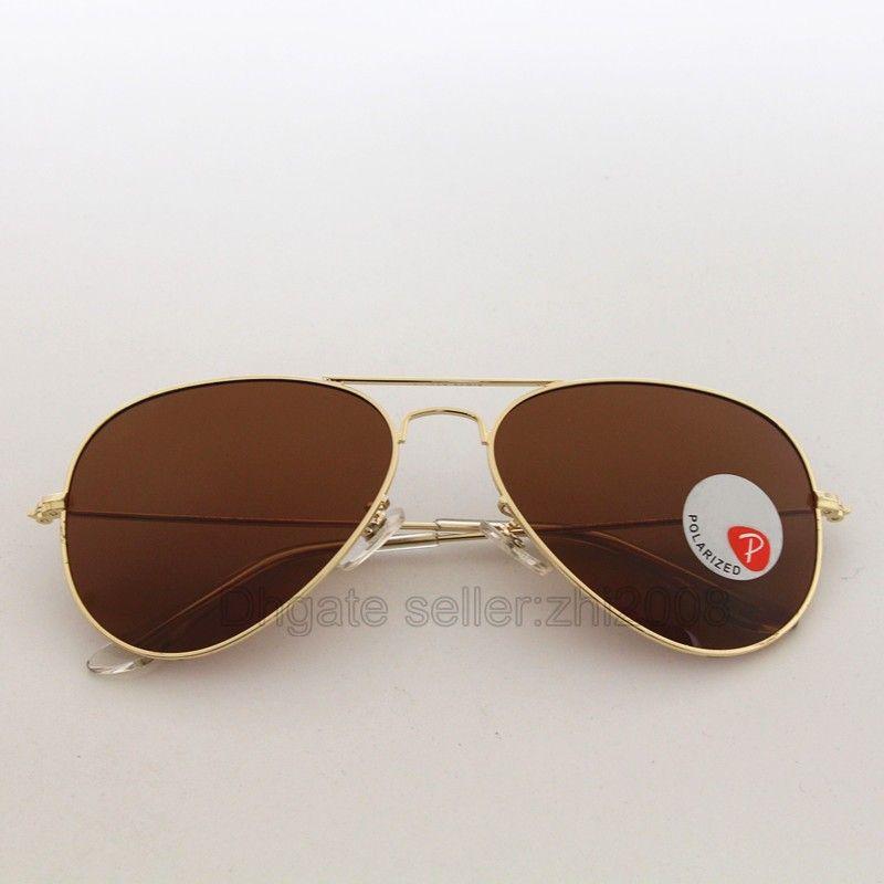 Compre Designer De Marca Óculos Polarizados Cassdall Clássico Óculos De Sol  Para Homens Mulheres Óculos De Condução Uv400 Gold Metal Frame Lentes De  Resina ... 74b47a21c0