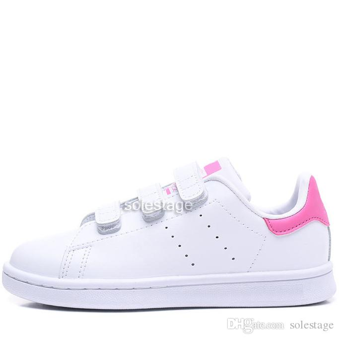 size 40 f2405 42f3c Kids Children Stan Smith Running Shoes For Baby Boy Girl Gazelle Samba OG  Sneakers High Quality Classic Hous Athletic Outdoor Shoes Eur22-35