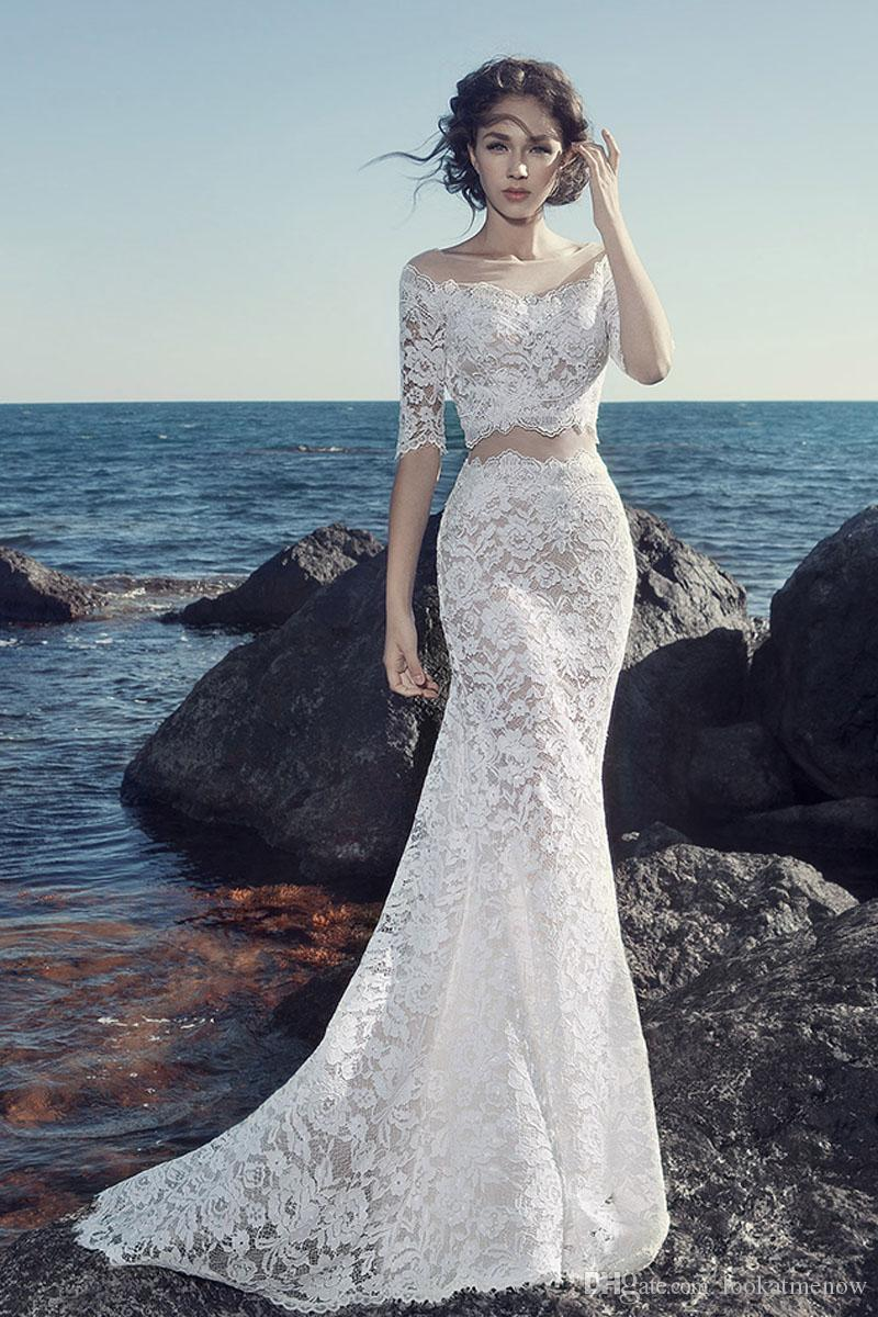 The 2018 Studio Themed Clothing Before Long After Short Legs Fishtail Tail Bra Wedding Dress Chiffon Perspective Twenty Percent Off Sale Net Quick Delivery