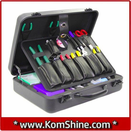 Ftth Fiber Optic Splice Toolbox Ftth Fiber Optic Tool Kit Fc 6s And ...