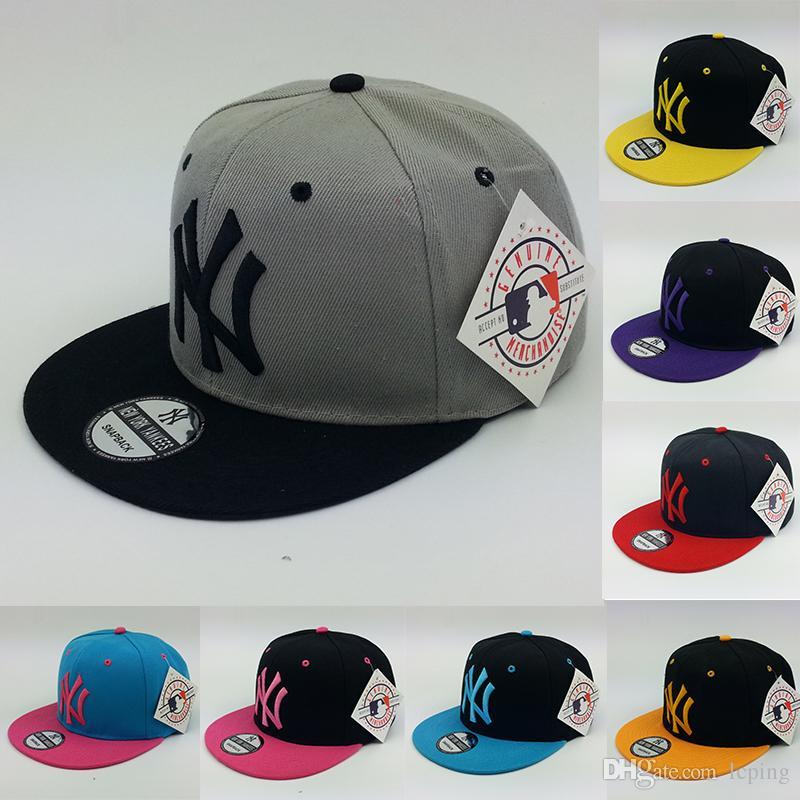 Baseball Cap Designer Hat NY Logo Adjustable Snapbacks Hats Many New Design Snapback  Caps Snap Back Cap Men S Sport Hat High Quality Cap Shop Flexfit Caps ... 49cacd41b019