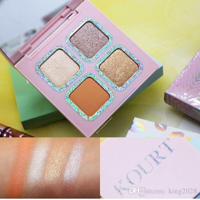 New arrival! Kourt limited edition eyeshadow Eyeshadow Palette 3kinds to choose green/blue/pink