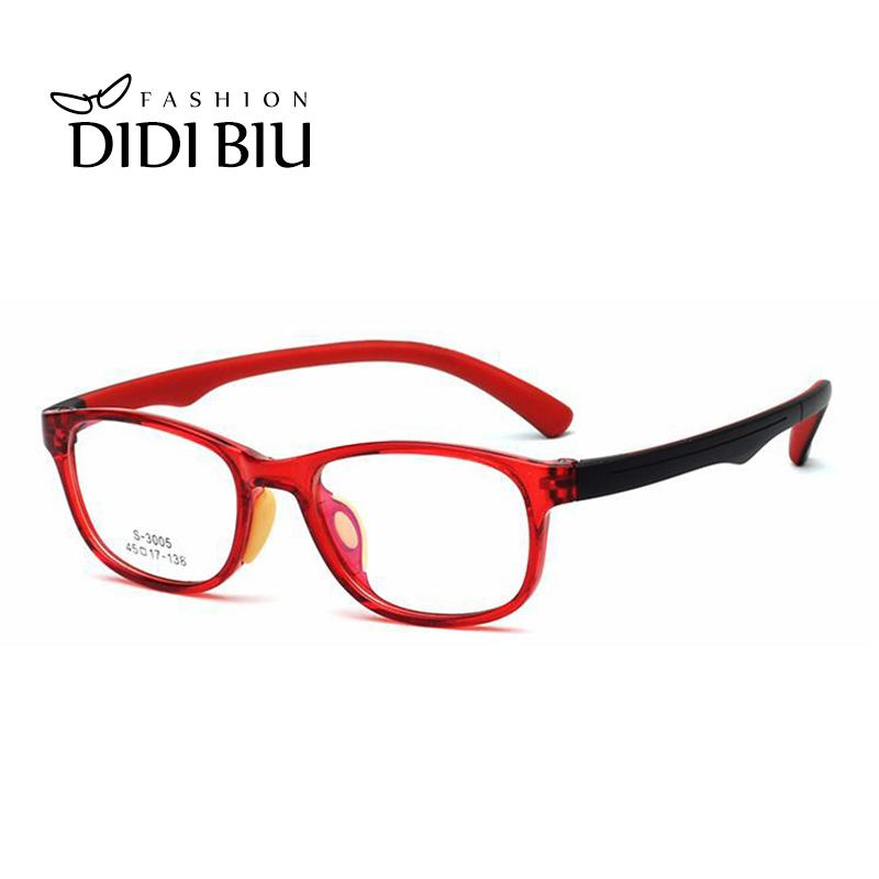 5c86bb534b 2019 Vintage Children Rectangle Optical Glasses Frame TR90 Prescription  Eyeglasses Boys Girls Myopia Eyewear Frames Kids CL986 From Shuidianba