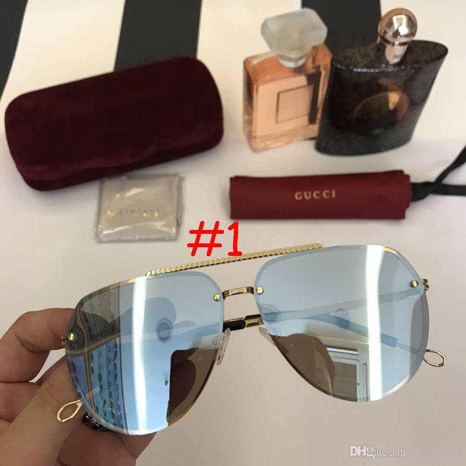 979c073246f 2018 Cat Eye Vintage Brand Designer Rose Gold Mirror Sunglasses For Women  Metal Reflective Flat Lens Sun Glasses Female Oculos Police Sunglasses  Serengeti ...