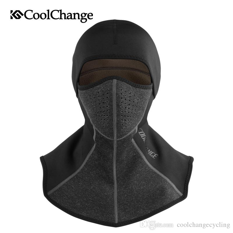 2019 CoolChange Winter Cycling Cap Fleece Thermal Keep Warm Windproof Face  Mask Bicycle Skiing Hat Cold Headwear Bike Face Mask Scarf From  Coolchangecycling ... f6cd19ca9546