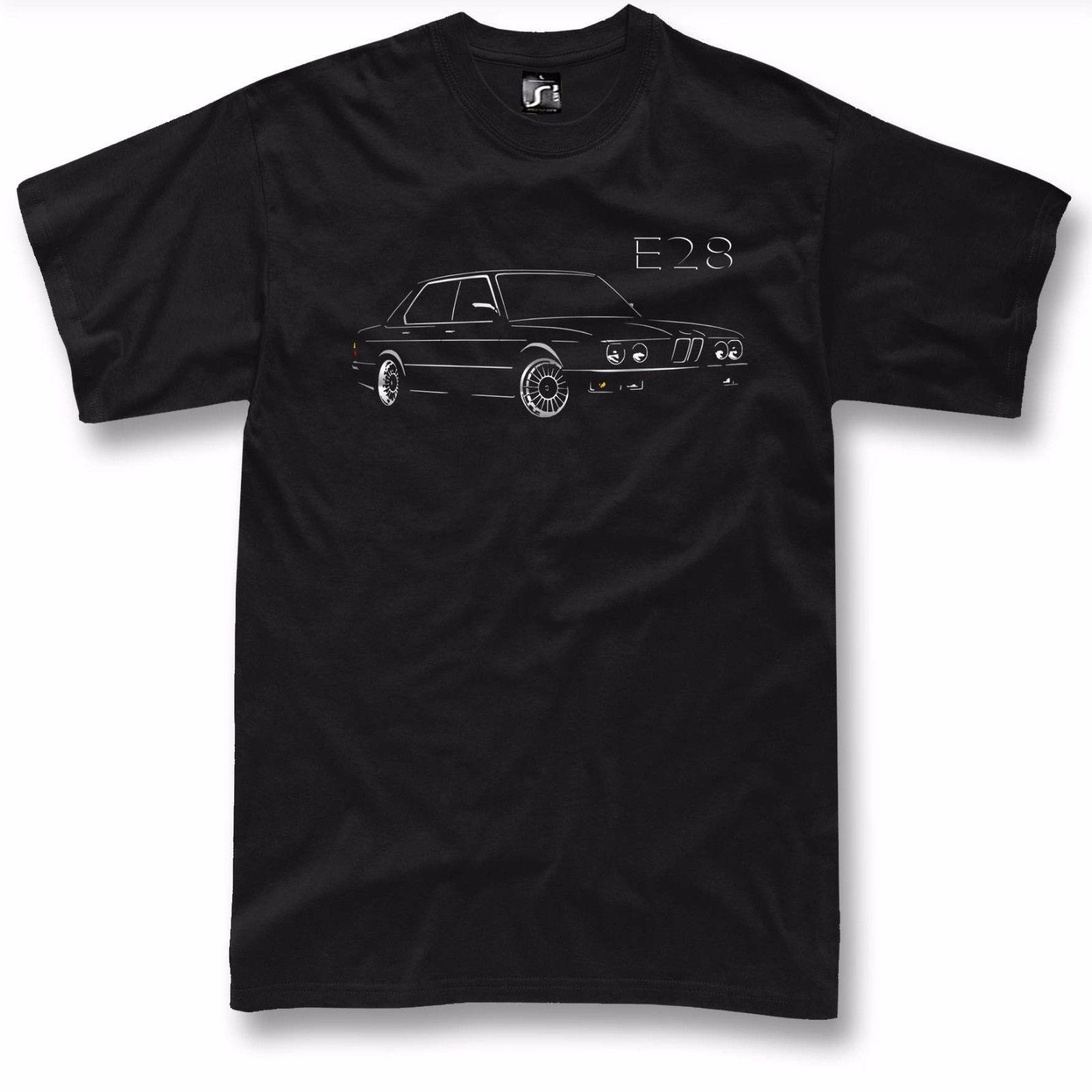 E28 T Shirt 520 525 528 535 M5 For Cheap Hot Sale E28 Fans 5 Series