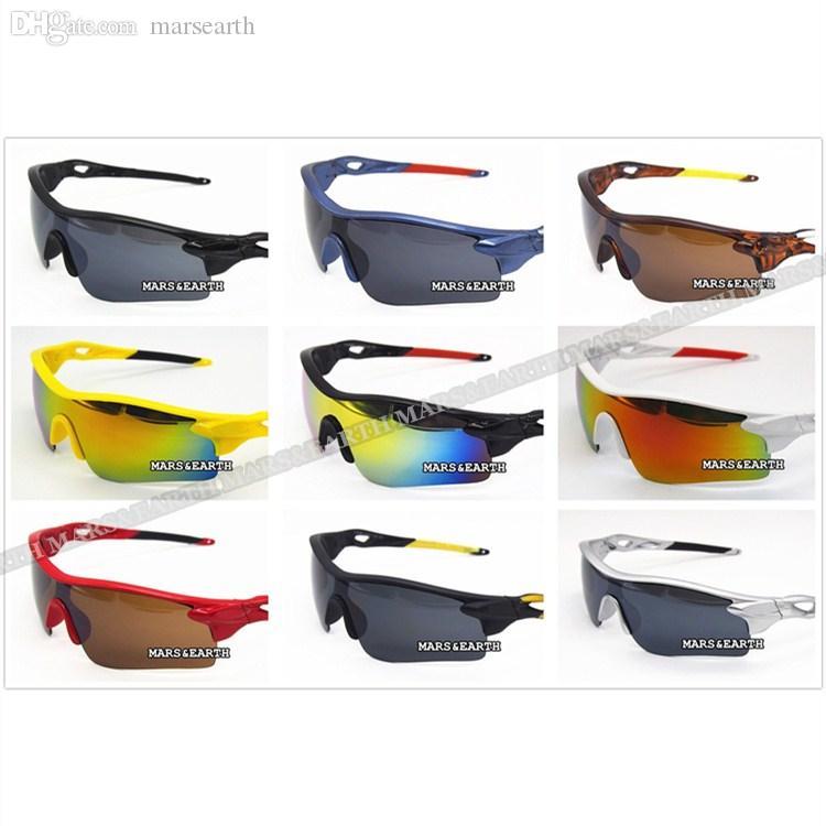 cabf55494 Compre New Hot Estilo Clássico Colorido Ao Ar Livre Mulheres Homens Esporte  Equitação Bicicleta Ciclismo Marca Óculos De Sol Goggle Clássico Óculos De  Sol ...