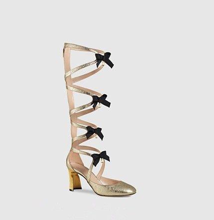 632c2edff European Women Casual SandalsPointed Toe Bowtie Gladiator Sandals ...