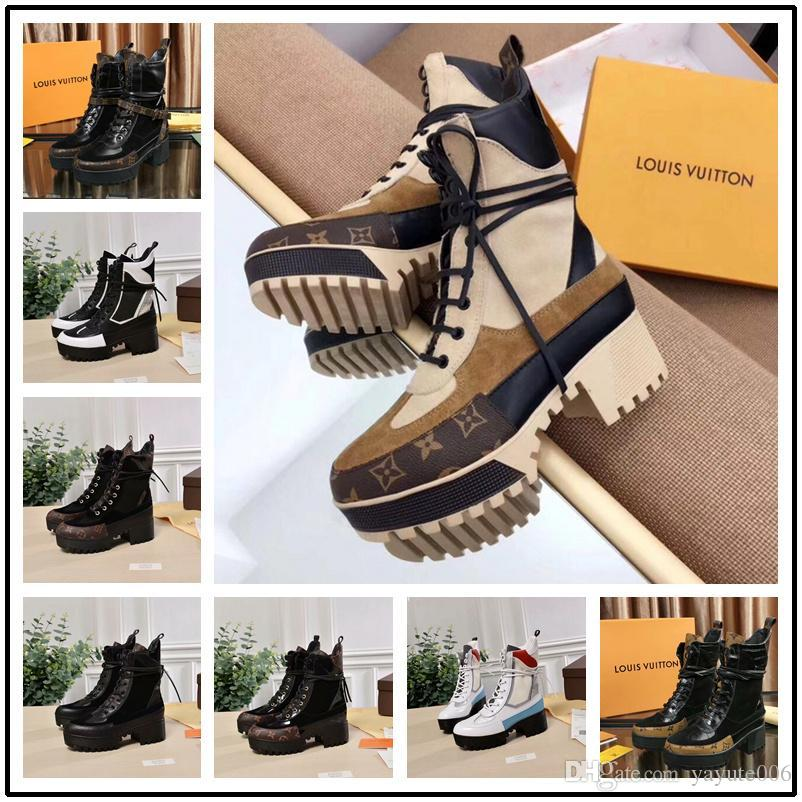 1d3a15af9 23 Style Luxury Women All Color Leather Hiking Shoes Desert Boot Wholesale  Winter Snow Boot Platform Boot Outdoor Work Boots Leisure Ankle Womens  Ankle ...