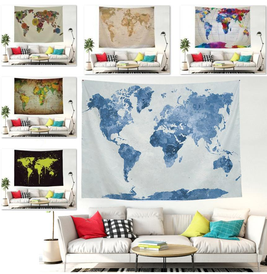 Wall Hanging Tapestry Mop Tapestry Bedroom Living Room Rug Home ...