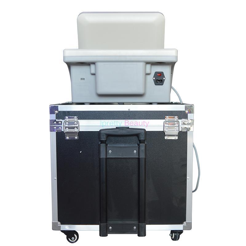 Grado médico HIFU Ultrasonido de alta intensidad HIFU estiramiento facial La eliminación de arrugas cuerpo adelgazar máquina con 5 cabezas para cara y cuerpo