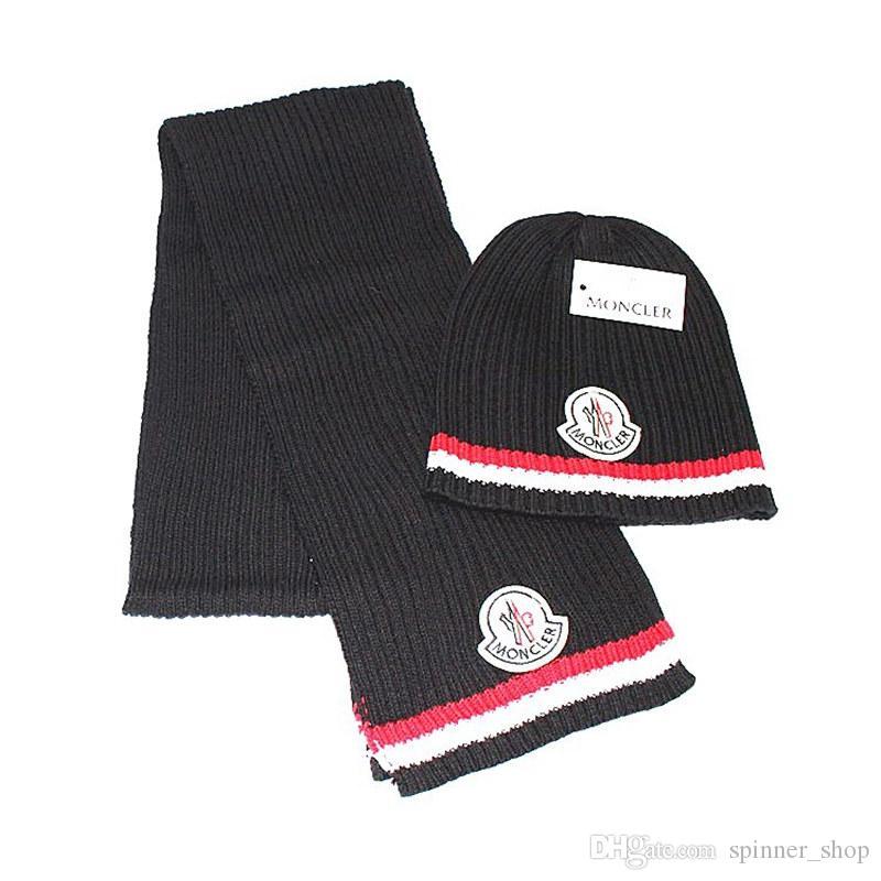 c06db7c35f6 Fashion Luxury Winter Hats Scarves Autumn Winter Keep Warm Men And ...