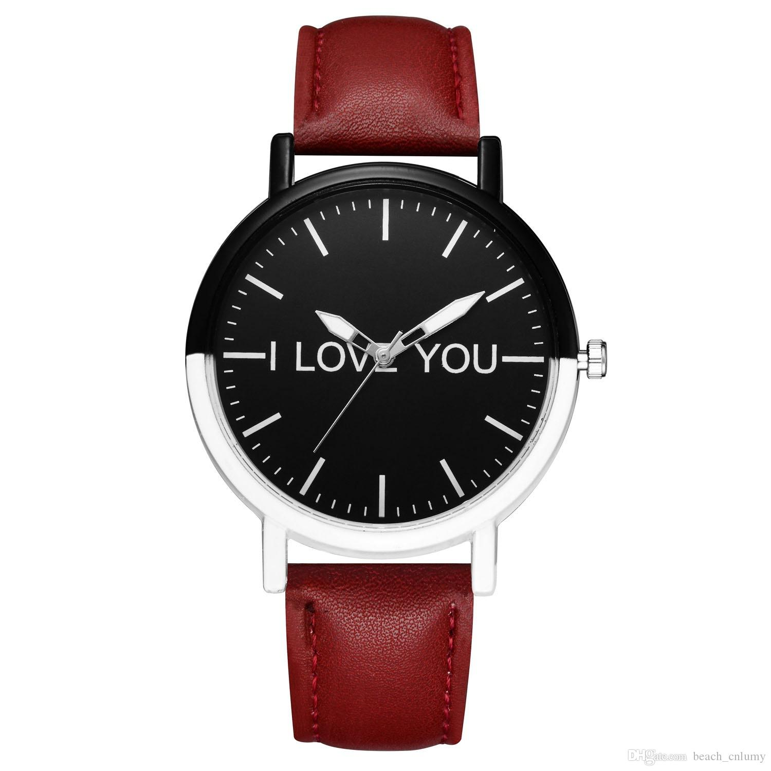 Watches Womens Watch Mens Minimalist Watch Fashion Glass Round Skin Strap Alloy Quartz Lovers Dress Wrist Watches Relogio Feminino