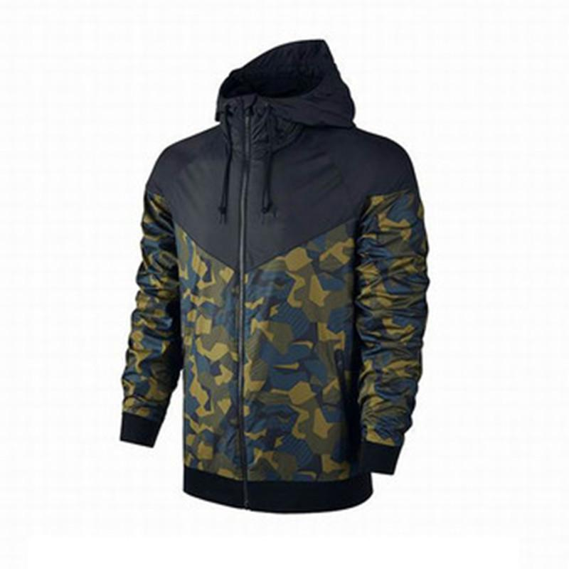 3a8ee3d843b Brand Men Jackets Coat Autumn Sweatshirt Hoodie Camouflage Windproof Long  Sleeve Designer Hoodies Zipper Plus Size Mens Clothing Hooded Men Coats  Cool ...