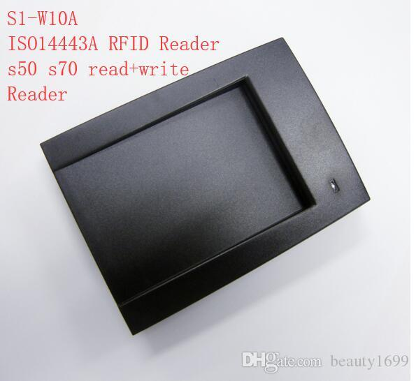 S1-W10A 13 56mhz ISO14443A RFID Reader For 1k Card Free English SDK For  software read and write And developing 5sets Free Ship