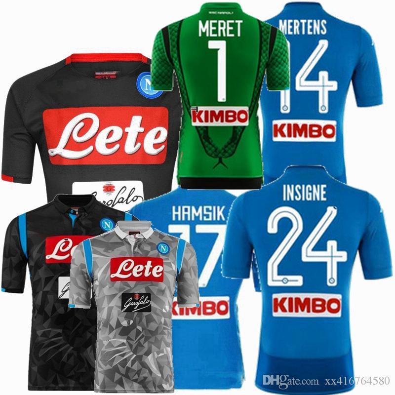 2018 2019 Napoli Soccer Jersey 18 19 MILIK INSIGNE HAMSIK CALLEJON Hogar  Lejos Tercer Entrenamiento Mejor Calidad Fútbol Camisetas De Fútbol Por  Xx416764580 ... d65909ad02762