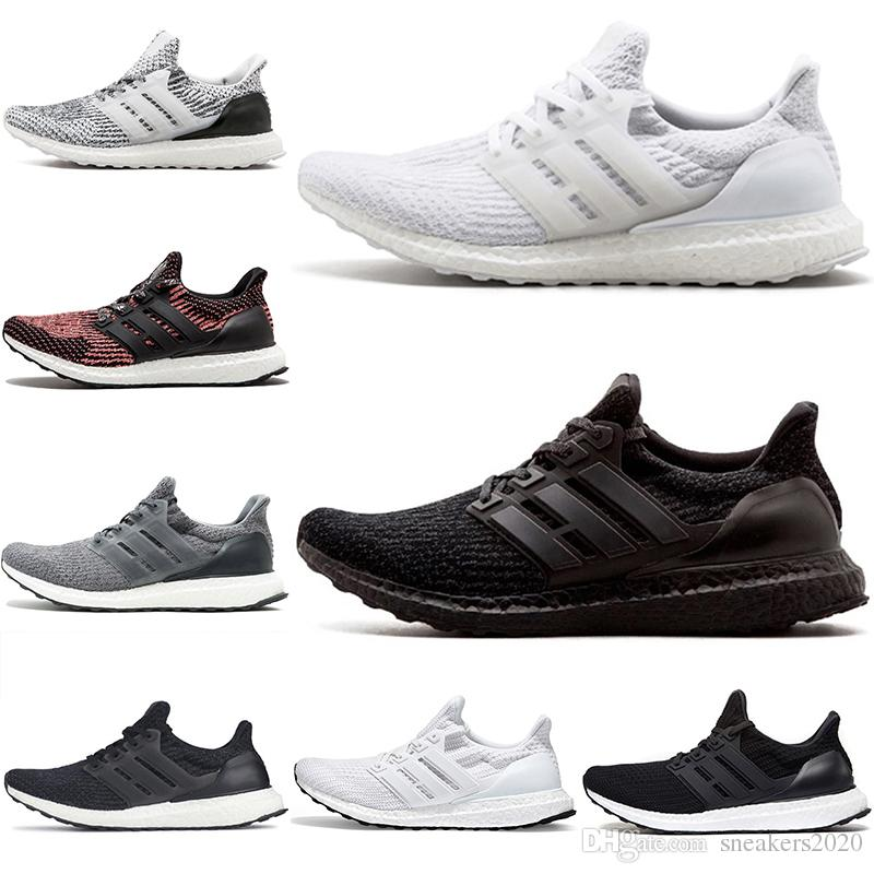 d3597833c 2019 Cheap Ultra Boost 3.0 4.0 Running Shoes Ultraboost Triple Black White  Oreo Grey Men Women Designer Trainer Sport Sneaker Size 5 11 From  Sneakers2020