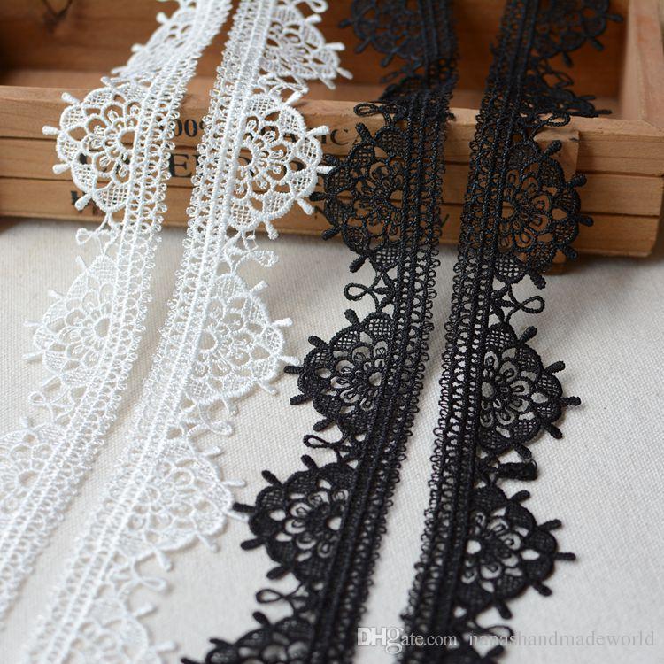 3.5cm vêtement accessoires broderie garnitures ornement bricolage à la main couture matériel dentelle tissus pour les robes voiles de mariage
