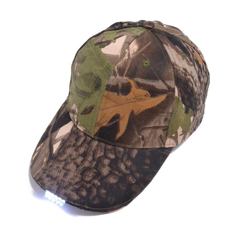 a322840ece 2019 Outdoor Hiking Tactical Hat LED Fishing Hat Hiking Caps Night Walking  Cycling Hunting Hats Sport Summer Cap From Godefery