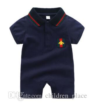 dc5d8e63e553 Brand New Baby Clothing New Born Short Sleeve Bobysuit Kids Cotton ...