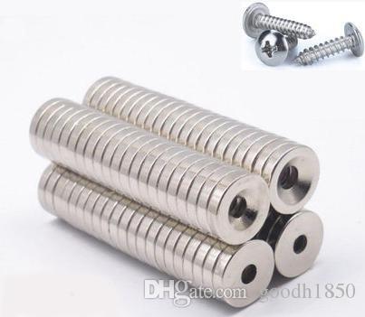 Dia15mm, spessore 3mm con foro M4 / bag Caldo foro duro di vendita caldo, magnete industriale, magnete vivente, magnete NdFeB
