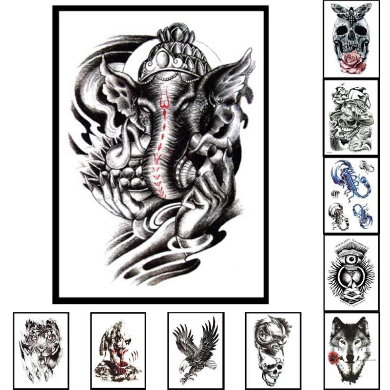 Brazo Etiqueta Hombro Tatuajes Temporal Tatto Hombres Impermeable