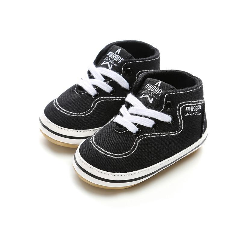 Baby Shoes Boy Newborn High Top Casual Baby Soft Bottom The First Walker  Shoes New Girls UK 2019 From Xunqian 034019ecf