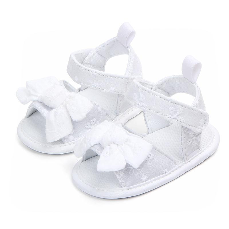 344b985b546 New Summer Baby Girls Sandals Bowknot Anti Slip Crib Shoes Newborn Footwear  Infant Baby Kids Soft Sandals Childrens Sandles Kid Shoe From Heathera